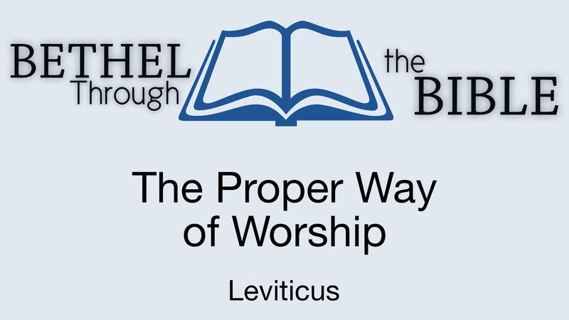 The Proper Way of Worship