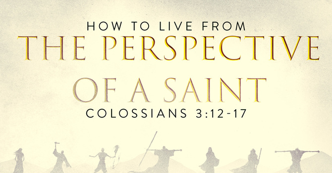 How to Live from the Perspective of a Saint: Put on the New Man
