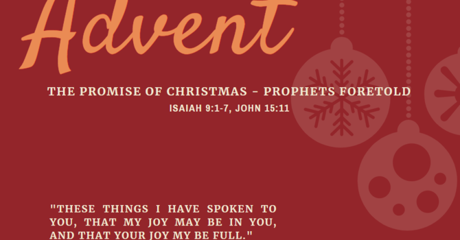 The Promise of Christmas - Prophets Foretold