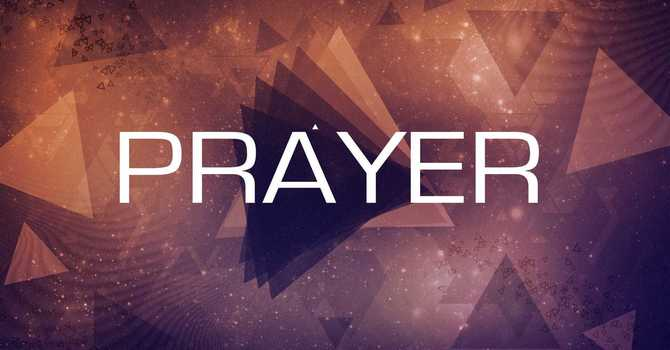 Productive Praying