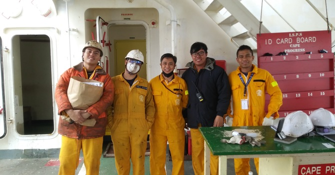 'Care Packages' for seafarers image