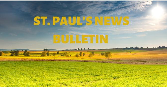 St. Paul's August News Bulletin