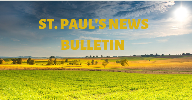 St. Paul's August News Bulletin image