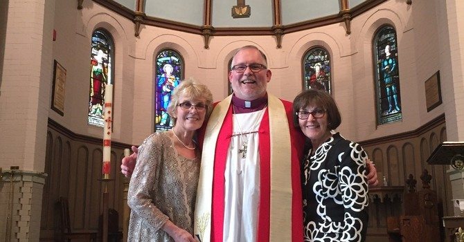 Bishop David receives an Honorary Doctorate from Wycliffe College image