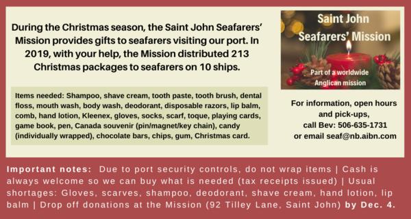 Mission to Seafarers, Saint John