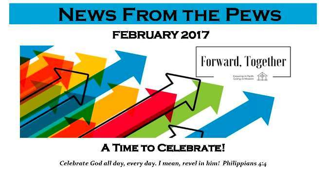 News from the Pews - February image
