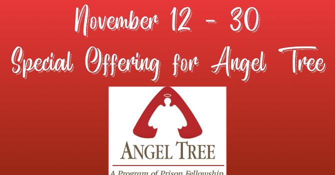 Angel Tree Special Offering Underway image