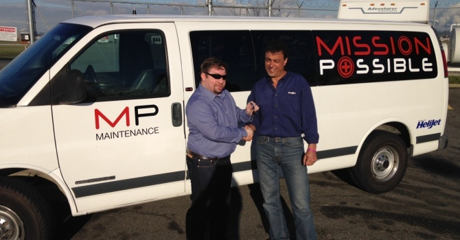 Thank you to Helijet for Van Donation image