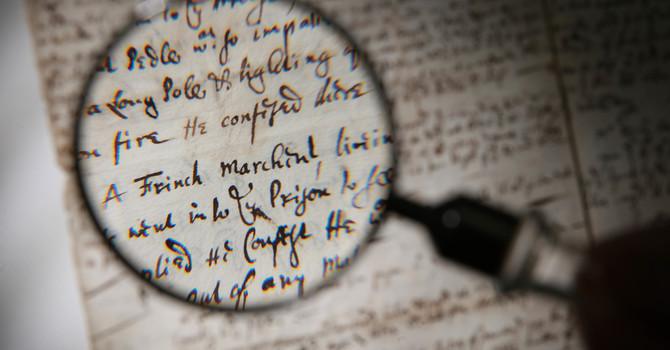 Study on manuscript evidence starts March 7 image