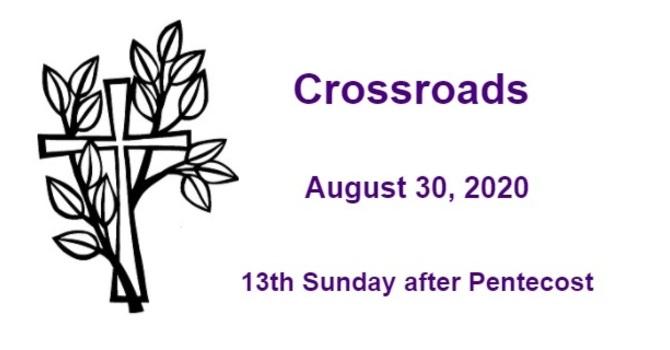 Crossroads August 30, 2020 image