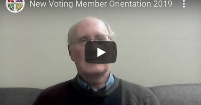New Voting Member Orientation Video