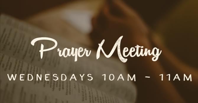 Wednesday Prayer Group
