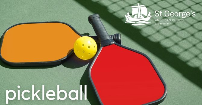 Pickleball courts! image
