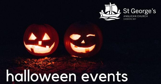 Halloween events at St. George's image