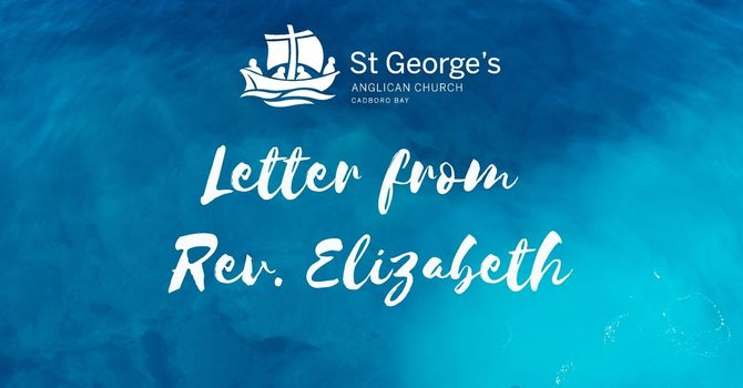 Letter from Rev. Elizabeth  image
