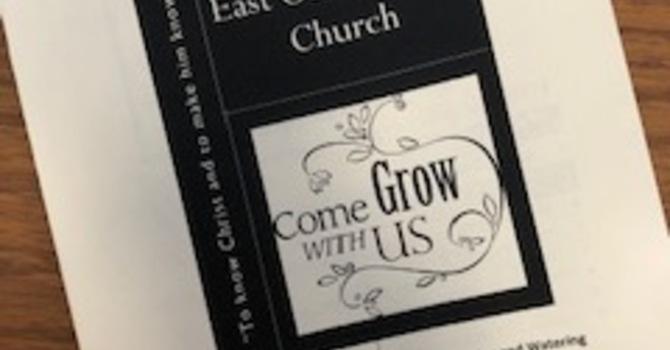 January 12, 2020 Church Bulletin image