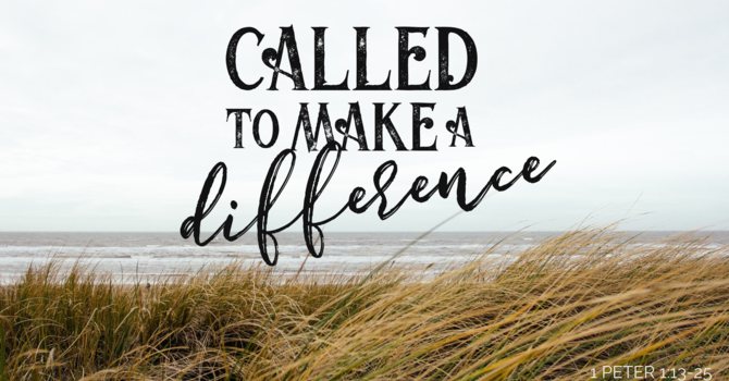 Called to Make a Difference