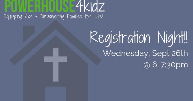 PowerHouse Registration! image