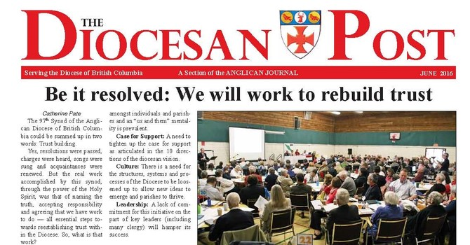 June 2016 Diocesan Post image