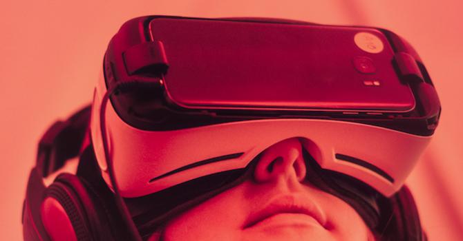 Virtual Reality to Real World image