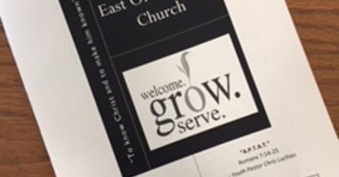 May 27, 2018 Church Bulletin image