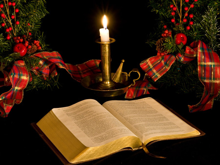 Candlelight scripture reading