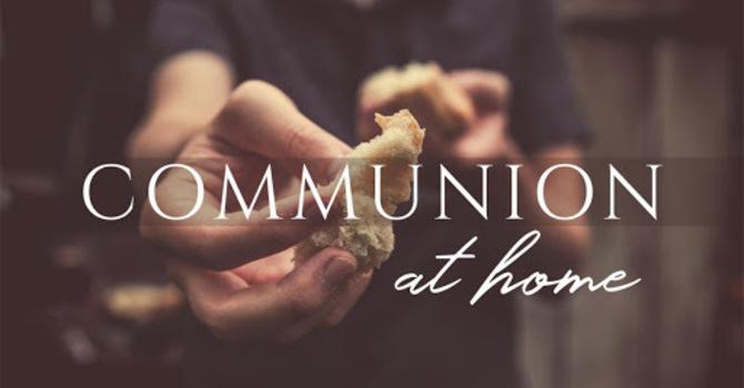 Communion on May 3 image