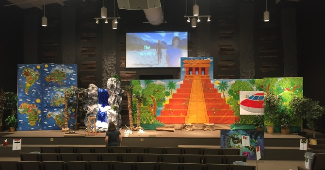 Incredible Race Vacation Bible School a great sucess image