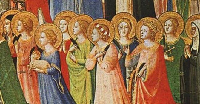 Characteristics of a Saint image