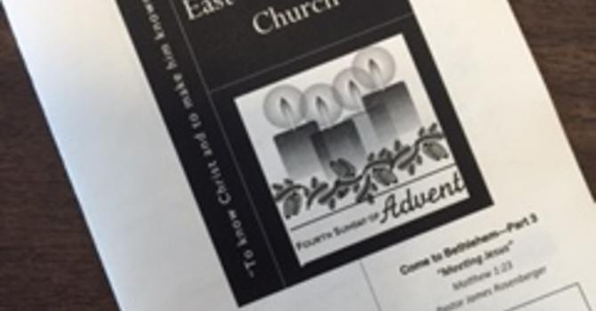 December 24, 2017 Church Bulletin image