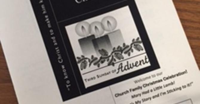 December 17, 2017 Church Bulletin image