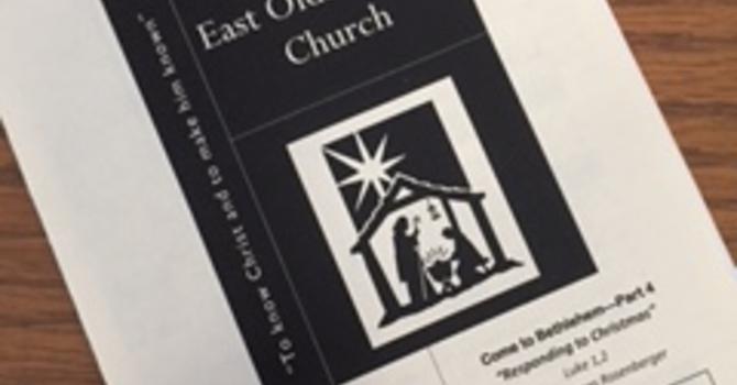 December 31, 2017 Church Bulletin image