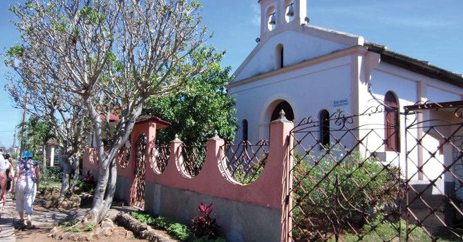 A Rustic Greenhouse for Cuban Parish