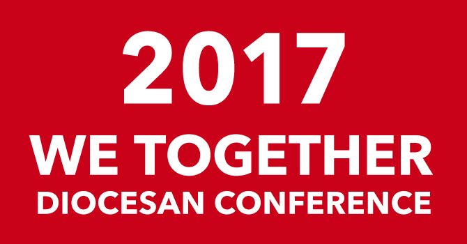 DATE CHANGE: We Together Diocesan Conference image