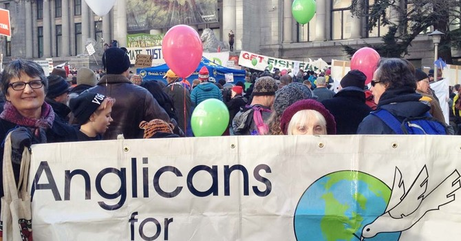 Anglicans at Vancouver's Global Climate March image