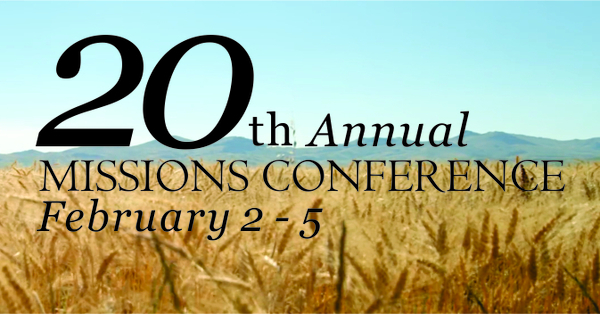 20th Annual Missions Conference 2019