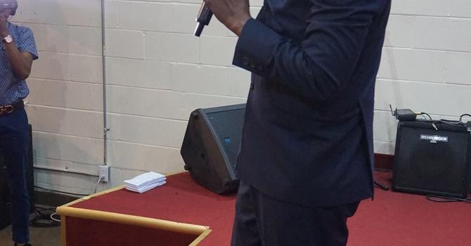 Pastor Ernest Odogba @ CHEC Faith Chapel  image