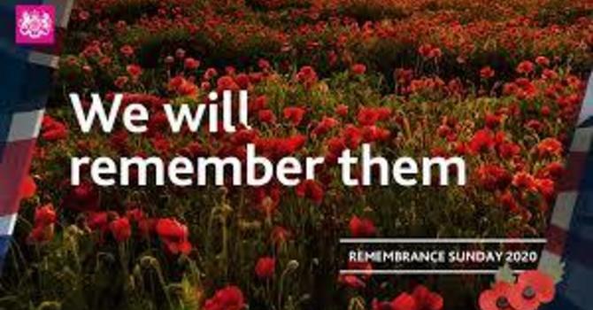 Bulletin: Remembrance Sunday, 22nd Sunday after Trinity image