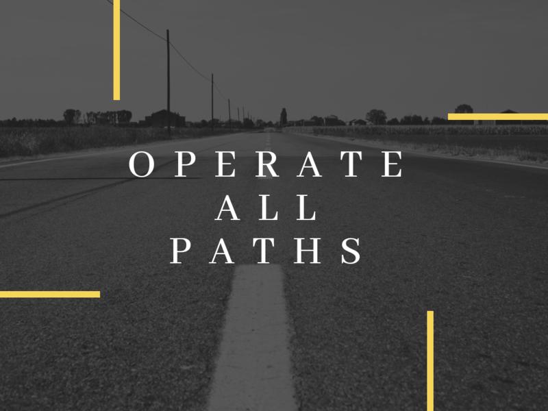 Operate All Paths - Jesse Welechenko | Stand Alone Sermons