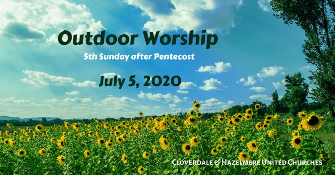 July 5, 2020 Worship Service image