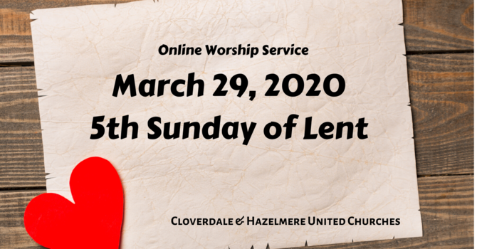 March 29 Worship Service