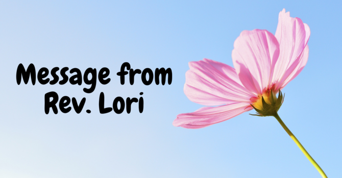 Message from Rev. Lori image
