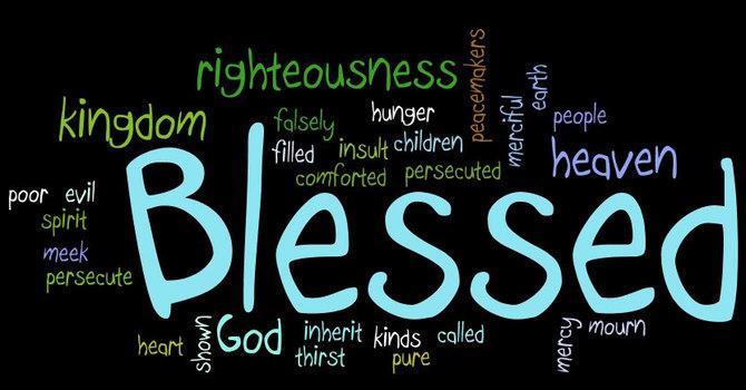 Matthew 5: 1-12 image