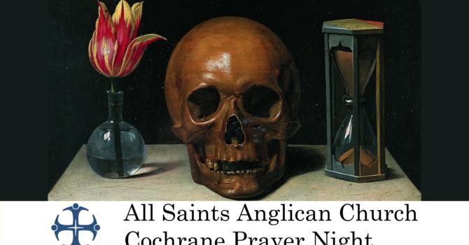 Cochrane Prayer Night September 16