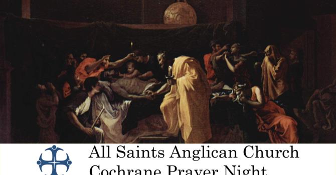 Cochrane Prayer Night September 23