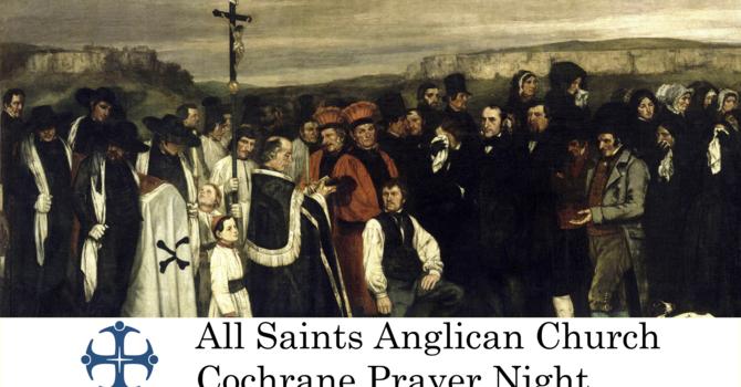Cochrane Prayer Night September 30