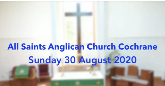 Eucharist Service August 30