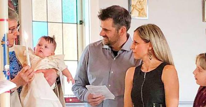 Baptism of Nathan John Kyle image