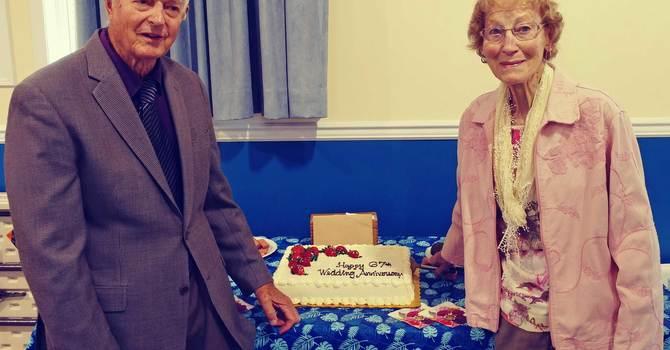 Congratulations Ed and Bernice! image