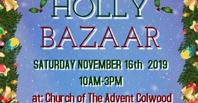 Holly Bazaar 2019 image